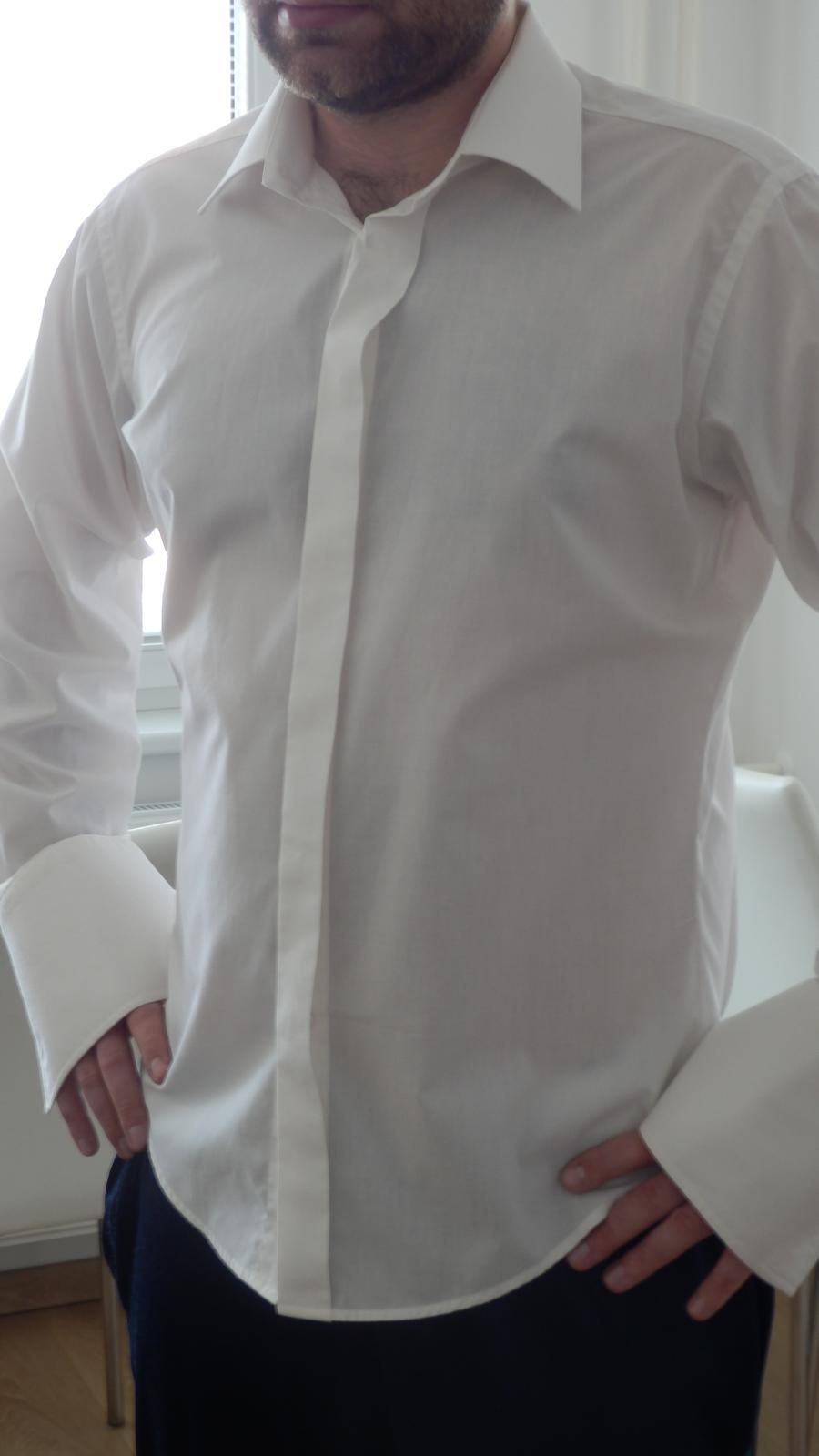 f8ed7069a972 Pánska košeľa - a.m.j classic - slim fit - 41
