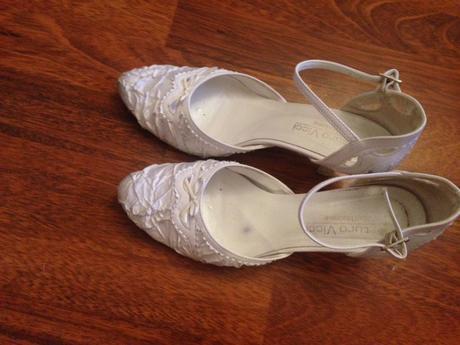Biele topánky č.38, 38