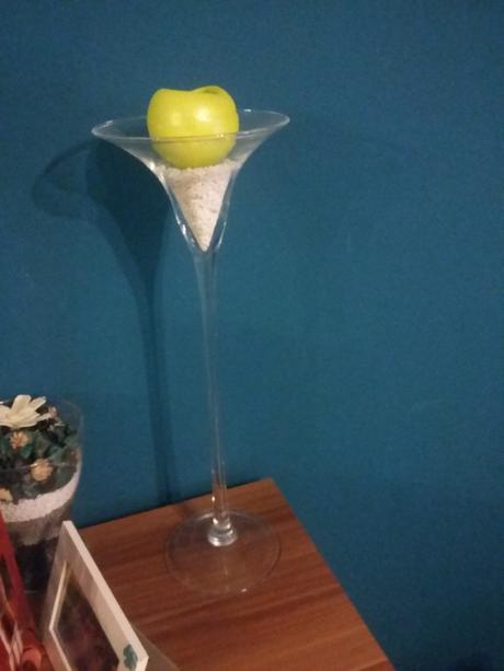 Vysoká martini váza (50cm),