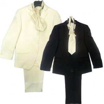 Chlapecký oblek - 5ti dílný, 122