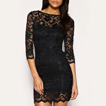 Krajkové šaty, XL