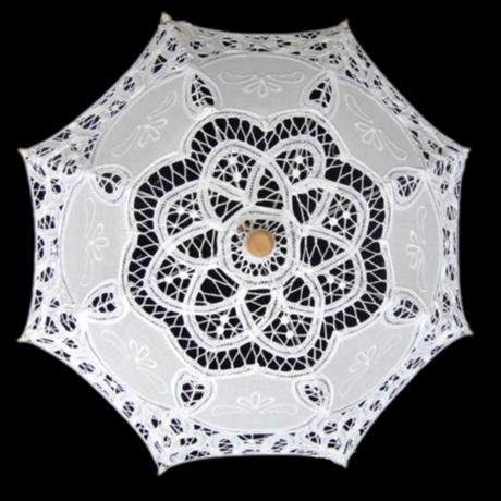 Krajkový deštník - velký,
