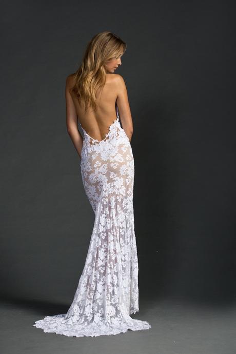 Plážové krajkové svatební šaty, 40