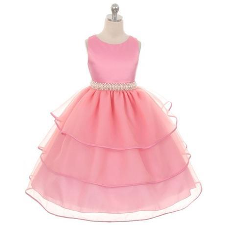Slavnostní šaty - světle růžové - kol 2016, 134