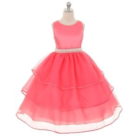 Slavnostní šaty - tmavě růžové - kol 2016, 110