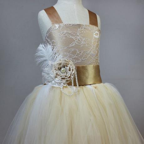Stylové šaty pro družičku - vel 2-12 let, 146