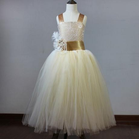 Stylové šaty pro družičku - vel 2-12 let, 92