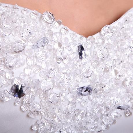 Svatební šaty, princezna styl, 38