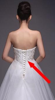Svatební šaty - princeznovský styl - jednoduché, 40