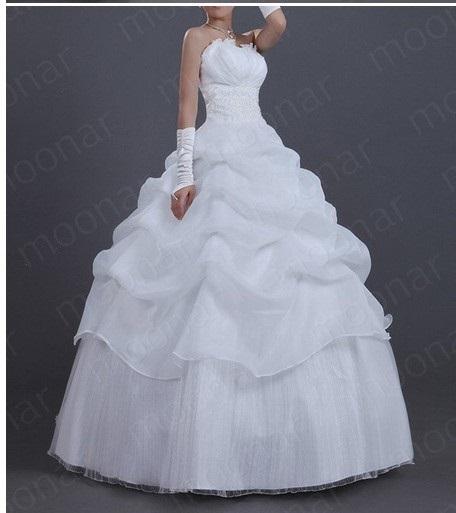 Svatební šaty - volánkové, 42