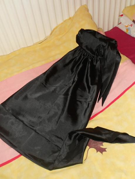 Čierna elegantná blúzka, 36