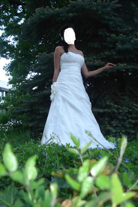 svadobne smotanove saty, 36
