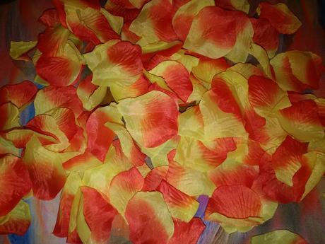 Oranžovožlté lupene,