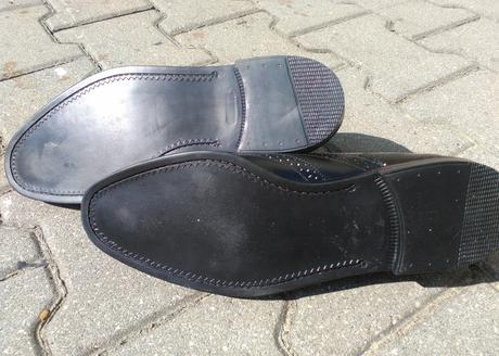 Pánske kožené topánky, 42