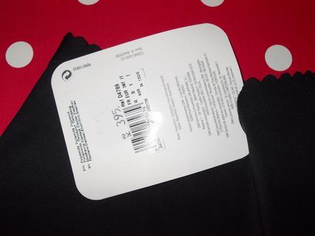 Černé kalhotky ( boxerky) značky DIM, 36