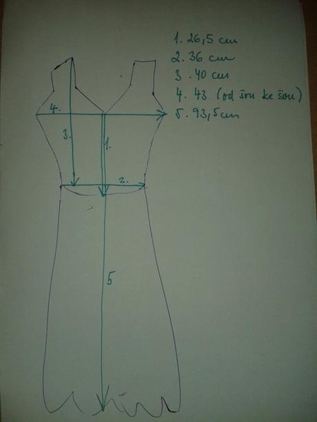 Retro šaty, 38