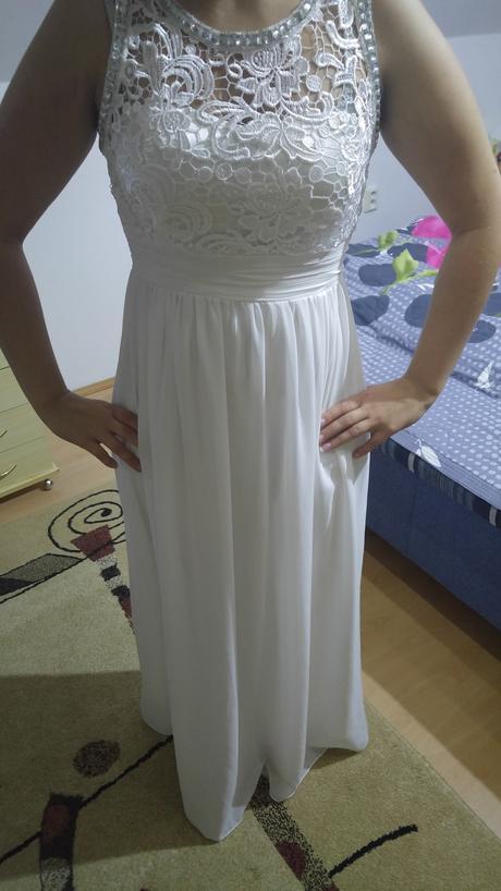 biele šaty, S