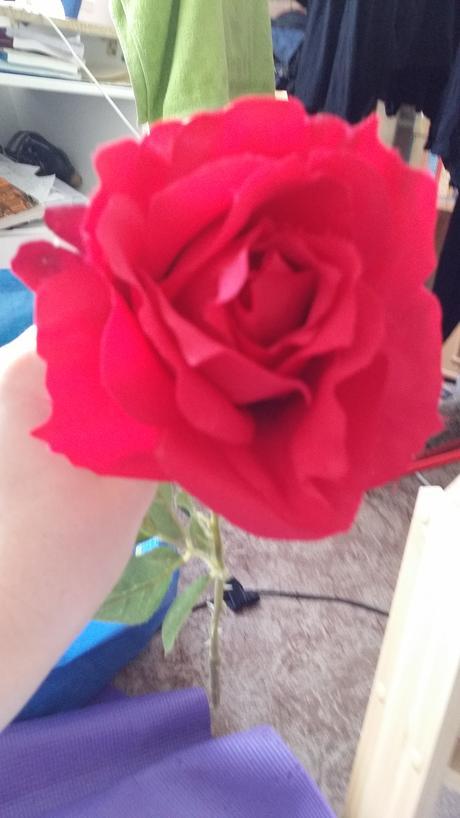 Umělé růže (4ks),