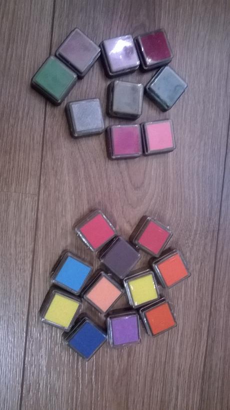 barevná razítka,