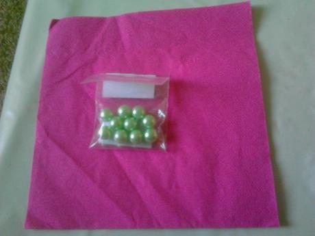 zelene perly,