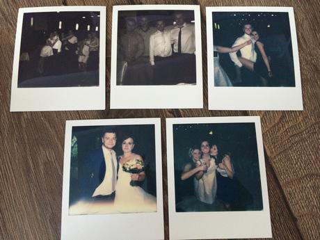 Fotokoutek - polaroid + 8 snímku ,