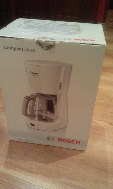Kavovar Bosch na prekvapkavanu kavu,