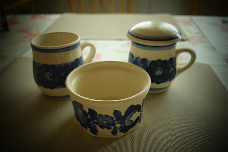 Modrá keramika,