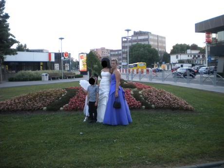 fialove šaty , 38