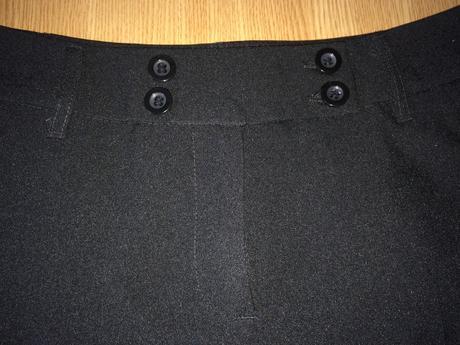 Černé kalhoty C&A, 38