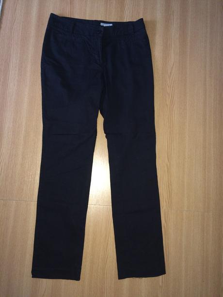 Černé kalhoty H&M, 38