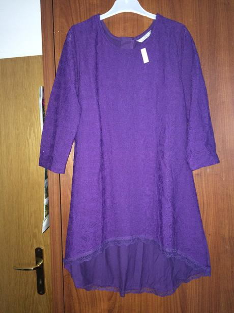 Fialové šaty ještě s cedulkou, Lindex, 146
