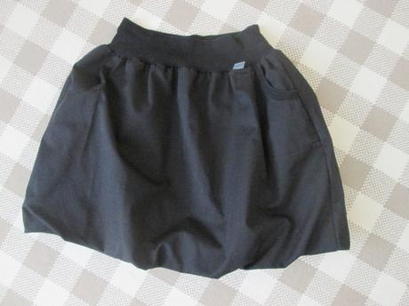 Balonová sukně černá, 38