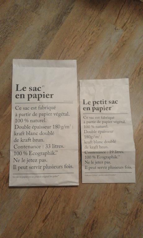 Papírové pytle Le Sac En Papier,