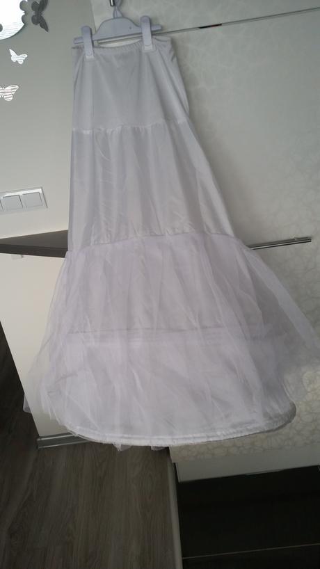 svadobné šaty s vlečkou od veľkosti 34-38, 36