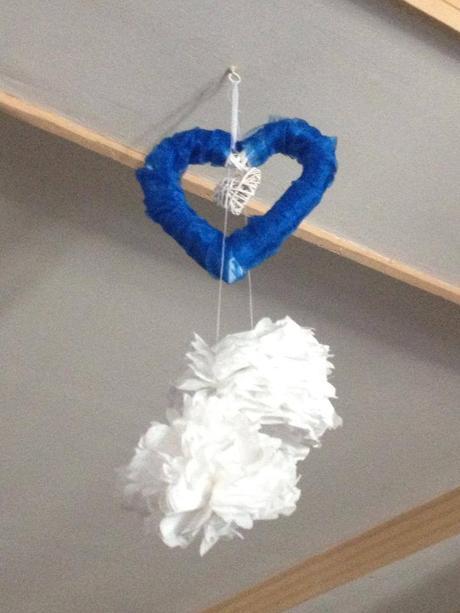 dekorácie na auto - srdcia,