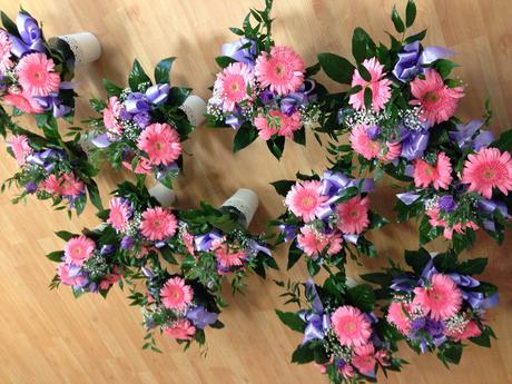Kvety kytice ikebany Pierka,