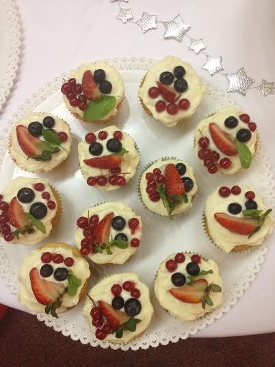 zákusky a cupcakes,