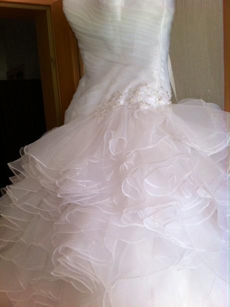 Svatební šaty vel. 38 - 40, 38