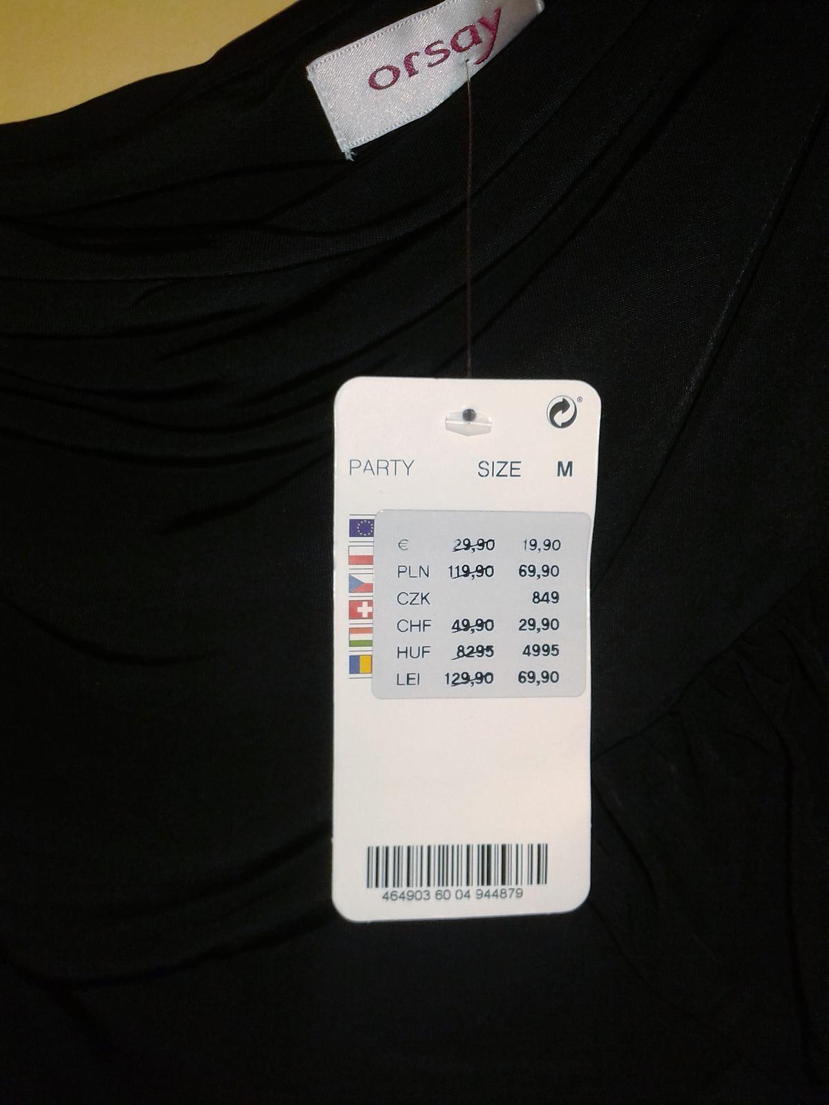 2344e2e12368 Spoločenské šaty orsay nenosené