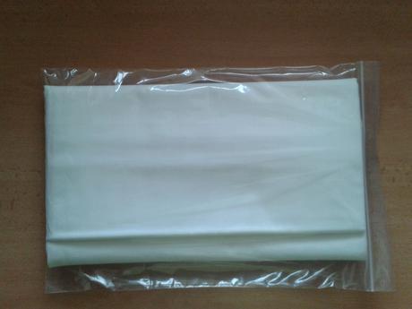 Biela plachta nepoužitá 300 x 134 cm,