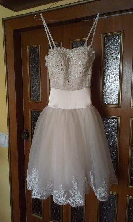 Biele popolnočné šaty, XL
