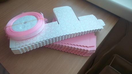 Krabičky na darčeky pre hostí ,