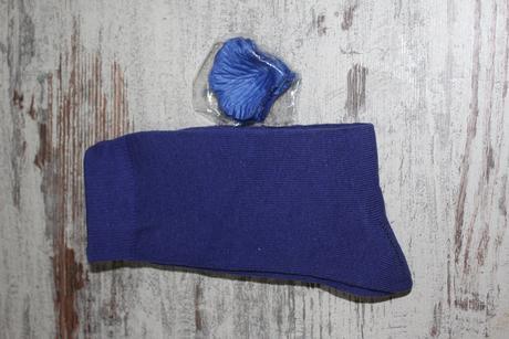 Ponožky v tmavě modré barvě. Vel. 39-42,