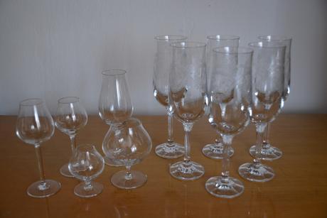 Porcelán + sklo,