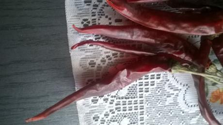 Chilli papričky - semiačka/Cayenne peper cca 20s,