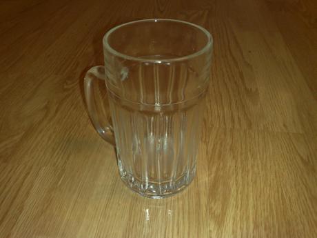 Klasika pivovy pohar hrube sklo pre pana 0,30dcl,