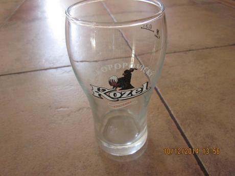 pohár na pivko kozel 0,33l ,