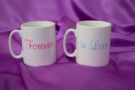 Hrnčeky s potlačou Forever in Love,