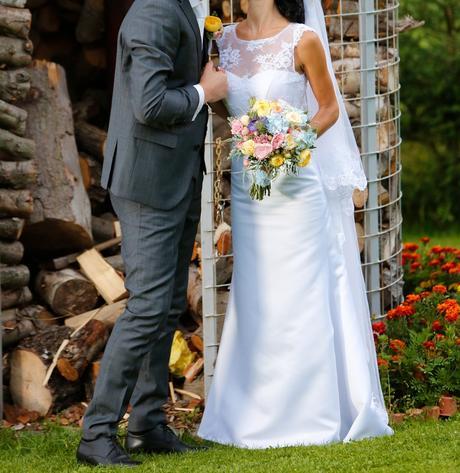 prekrásne svadobné šaty, 34