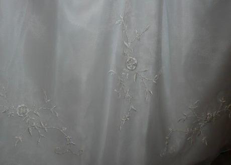 Dívčí bílé svatební společenské šaty 14let, 170